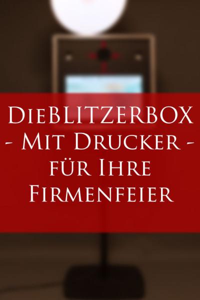 BLITZERBOX auf Ihrer Firmenfeier!