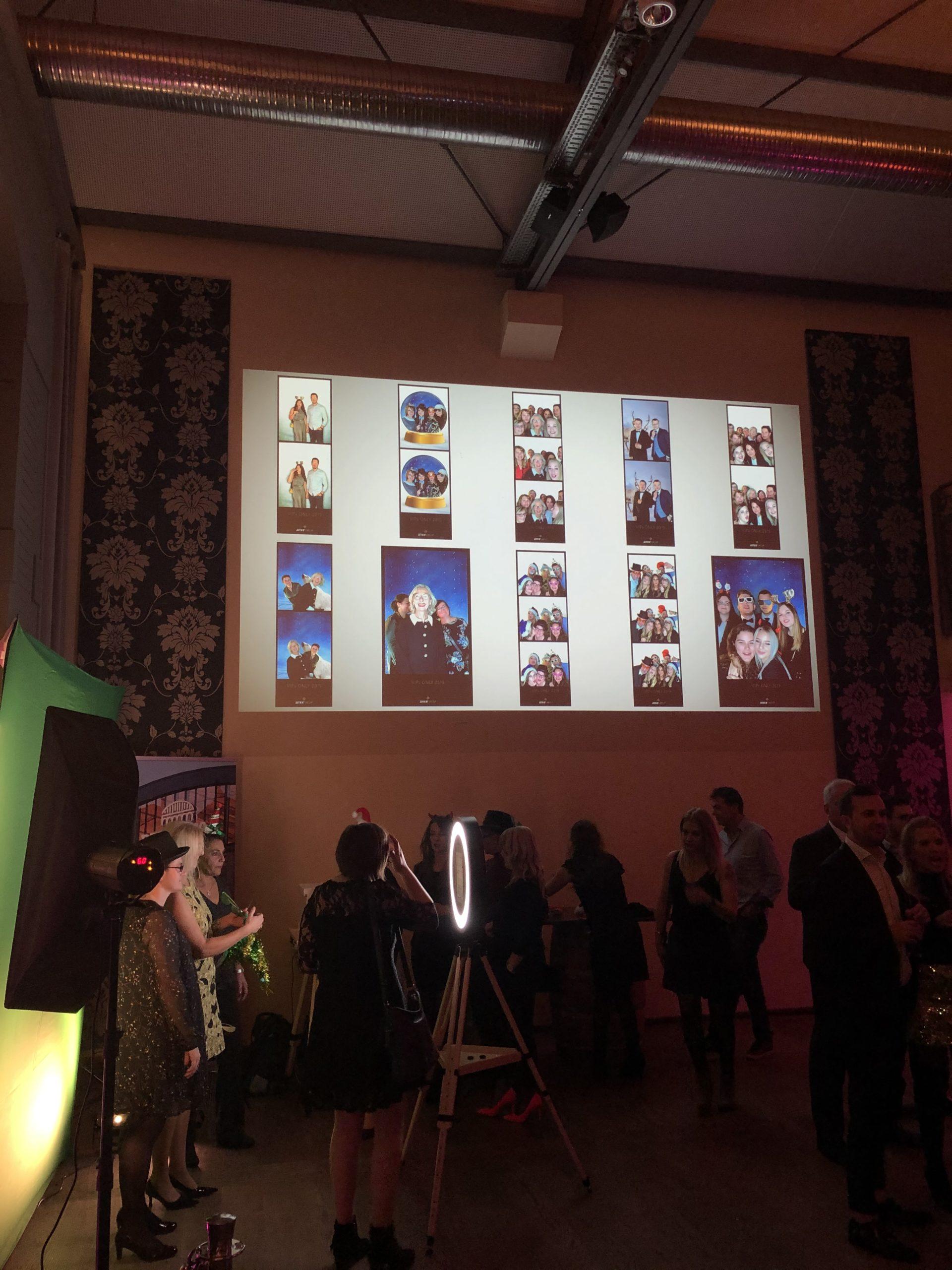 Fotobox Live Galerie im Einsatz in Frankfurt